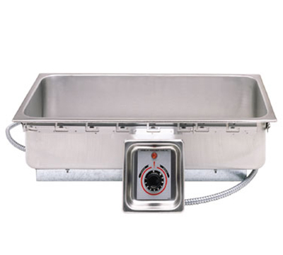 APW Wyott TM-43D Drop-in Food Warmer, 12 x 27-in Pan Opening & Drain, 120 V