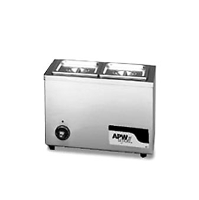 APW Wyott W-6 Food Warmer Holds 2/3-Size Pan, 120 V
