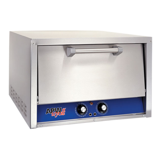 APW Wyott CDO-18 Electric Single Deck Countertop Pizza Oven, 120/1v