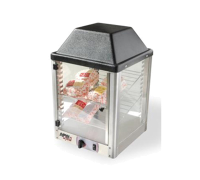 APW Wyott DWCI-14 Self-Serve Display Warming Cabinet - 2-Shelf, Front