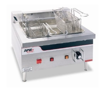 APW Wyott EF-30I 30-lb Fryer - Single F