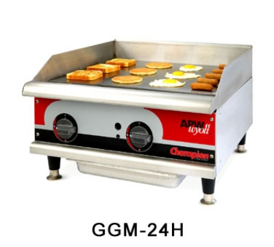 "APW Wyott GGT-18I 18"" Griddle - 1"" Steel Plate, Thermostatic Control, LP"