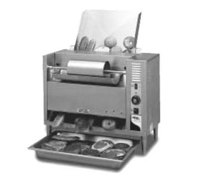 APW Wyott M-83 Conveyor Bun Grill Toaster, Butter Roller, 1600 Units/Hr, 208 V