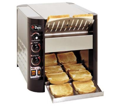 "APW Wyott XTRM-3H Countertop X Press Conveyor Toaster - 3"" Opening, 1,000 Units/Hr, 240v"