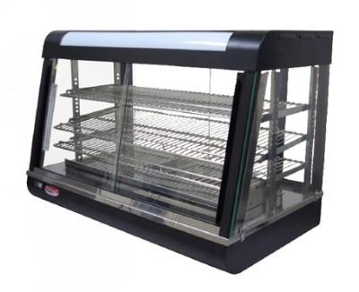 BakeMax BMCSC10 Countertop Hot Food Showcase, 47 in L, Wet or Dry