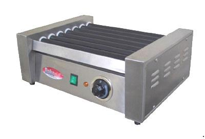 BakeMax BMHG002 12 Hot Dog Roller Grill - Flat Top, 110v