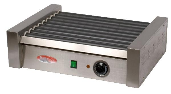 BakeMax BMHG003 16 Hot Dog Roller Grill - Flat Top, 110v