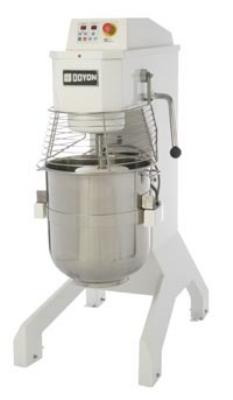 Doyon BTFP60 60-qt Vertical Pizza Mixer w/ 20-Speeds & Stainless Bowl, Cast Iron Frame