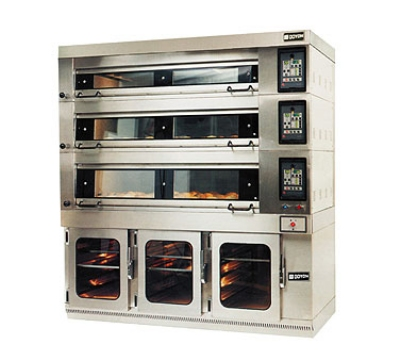 Doyon 3T-4 480 Artisan Stone Four Deck Oven For 12-Pans, 4