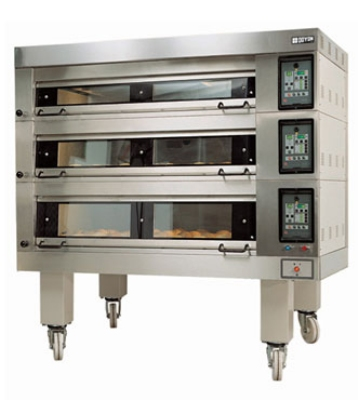 Doyon 4T-2 2083 Artisan Stone Double Deck Oven For 8-Pans, 208/3 V