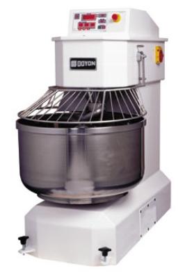 Doyon AEF050 175-lb Spiral Mixer w/ Stationary Bowl, 7-HP & 1.5-HP