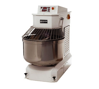 Doyon AEF080 280-lb Spiral Mixer w/ Stationary Bowl, 10-HP & 2-HP