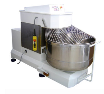 Doyon ATA100 350-lb Spiral Mixer w/ Removable Bowl & Cast Iron, 10-HP & 2-HP