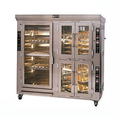Doyon CAOP12 2403 Circle Air Dual Oven/Proofer w/ Revolving Rack, 44-Pan, 120/240/3V