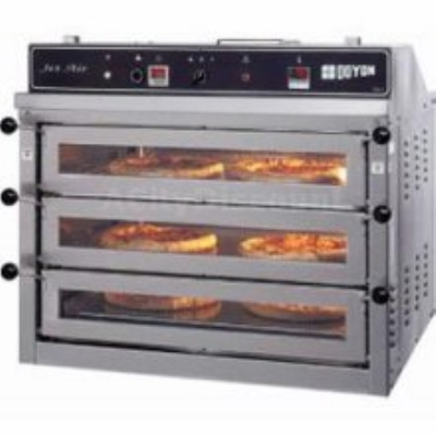 Doyon PIZ3 2401 3-Deck Pizza Oven w/ Interior Lights, (3) 18-in Pizzas, 120/240/1 V