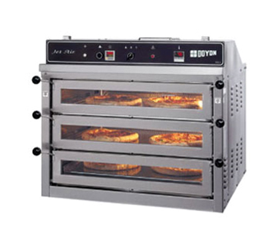 Doyon PIZ3G Triple Deck Countertop Pizza Oven, LP
