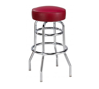 AAF MS2RGR5 Backless Swivel Barstool w/ Round Up