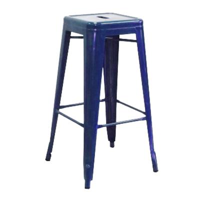 "AAF MC30 30"" Barstool - Recycled Steel, Blue Coating"