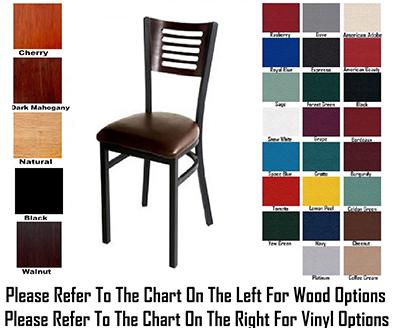 AAF MC350BGR5 Upholstered Side Chair w/ Slots Cutout & Grade 5 Back,