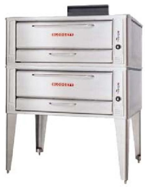 Blodgett 1048 DOUBLE LP Double Pizza Deck Oven, LP