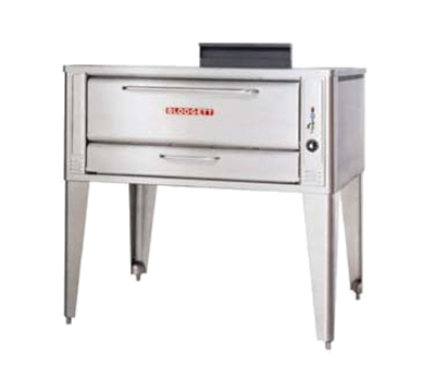 Blodgett 1048 SINGLE NG Single Pizza Deck Oven, NG