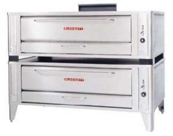 Blodgett 1060 DOUBLE LP Double Pizza Deck Oven, LP