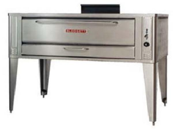 Blodgett 1060 SINGLE NG Single Pizza Deck Oven, NG
