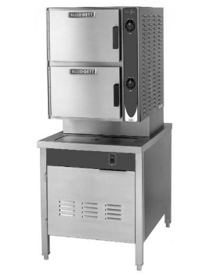 Blodgett 10DS-SC Direct Steam Manual Convection Steamer On 24-in Cabinet Base