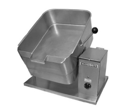 Blodgett 10E-BTT 2083 10-Gallon Counter Tilting Braising Pan w/ Rectangular Pan, 208/3 V