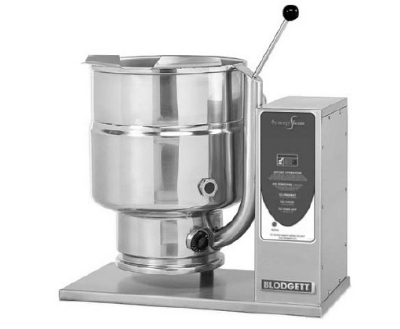 Blodgett 10E-KTT 2403 10-Gallon Table Top Tilting Kettle w/ Manual Tilt, 240/3 V