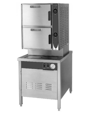 Blodgett 10E-SB 2403 Convection Steamer, Manual Controls & 2-Compartments, 240/3 V