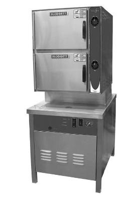 Blodgett 10G-SB NG Convection Steamer, Manual Control & 2-Compartments , NG
