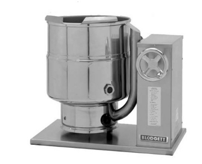 Blodgett 12E-KTC 2081 12-Gallon Table Top Tilting Kettle w/ Manual Gear Tilt, 208/1 V