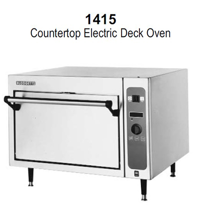 Blodgett 1415BASE 2201 Single Multi Purpose Deck Oven, 220v/1