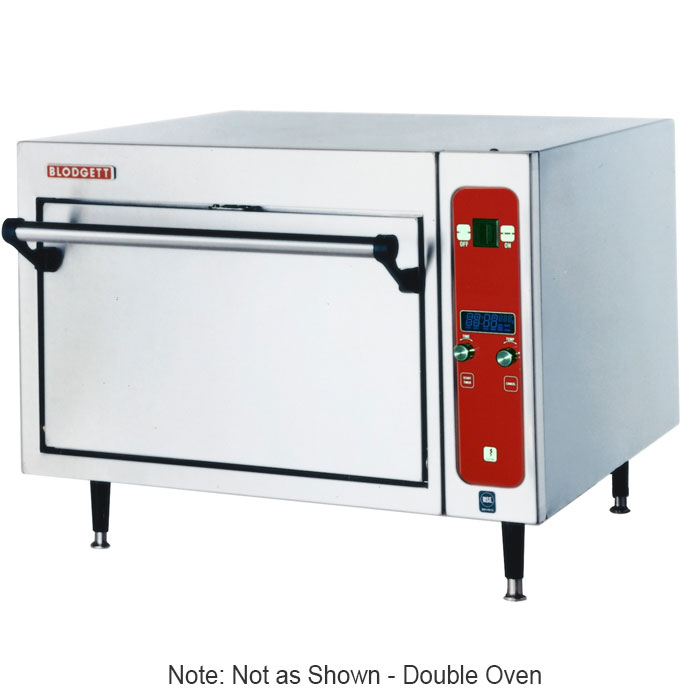 Blodgett 1415DOUBLE Electric Double Deck Countertop Multi Purpose Oven, 220/1v