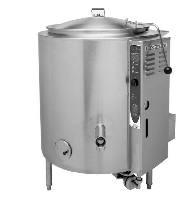 Blodgett 20G-KLS NG 20-Gallon Stationary Kettle w/ Hinged Cover, NG