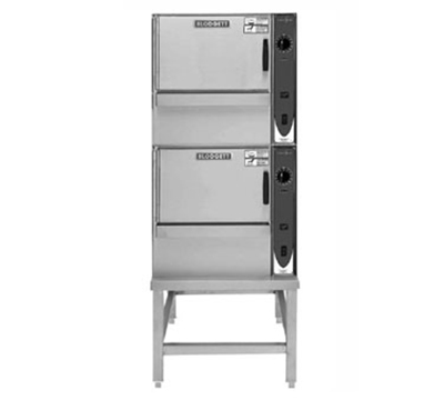 Blodgett (2) 5E-SBC  2401 2-Stack Convection Steamer w/ Stand, 5-Full Pan, 240/1 V
