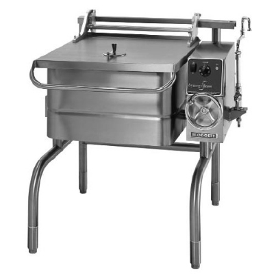 Blodgett 30E-BLT 2401 30-Gallon Braising Pan w/ Manual Crank Tilt & Controls, 240/1 V