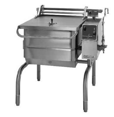 Blodgett 30G-BLP NG 30-Gallon Manual Control Braising Pan w/ Motorized Tilt, NG