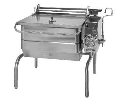 Blodgett 30G-BLT NG 30-Gallon Braising Pan w/ Manual Tilt & Controls, NG