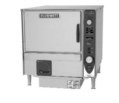 Blodgett 3E-SBF 2403 Countertop Boiler-Free Convection Steamer, Manual Control, 240/3 V