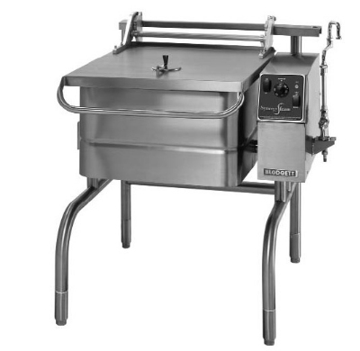 Blodgett 40E-BLP 2081 40-Gallon Braising Pan w/ Manual Control & Motorized Tilt, 208/1 V