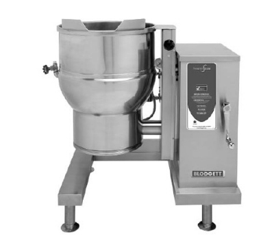Blodgett 40E-KLT 2081 40-Gallon Self-Lock Tilting Kettle w/ Manual Crank Tilt, 208/1 V
