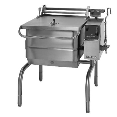 Blodgett 40G-BLP LP 40-Gallon Manual Control Braising Pan w/ Motorized Tilt, LP