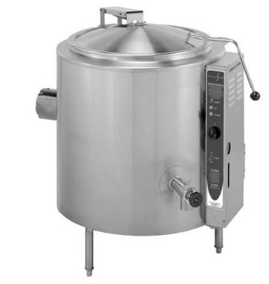 Blodgett 40GS-KLS NG 40-Gallon Stationary Tilting Kettle w/ Reinforced Rim, NG