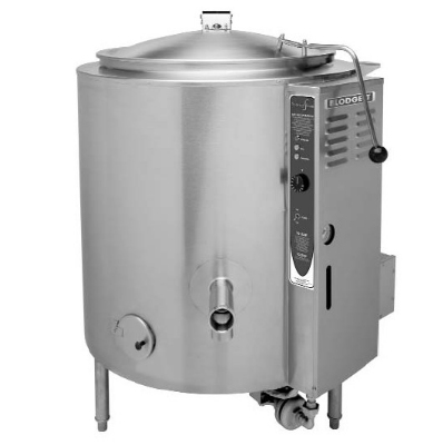 Blodgett 60G-KLT LP 60-Gallon Manual Self Locking Tilting Kettle, LP