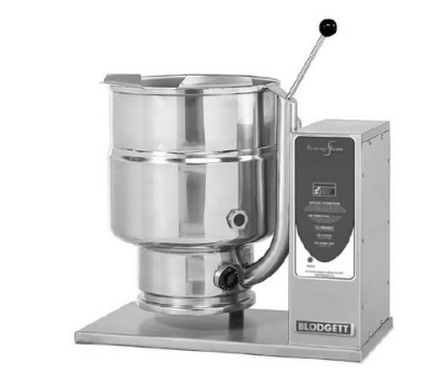 Blodgett 6E-KTT 2081 6-Gallon Table Top Manual Tilting Kettle, Reinforced Rim, 208/1 V