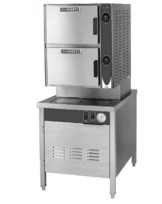 Blodgett 6E-SB 2803 2-Compartment Manual Control Convection Steamer, 208/3 V