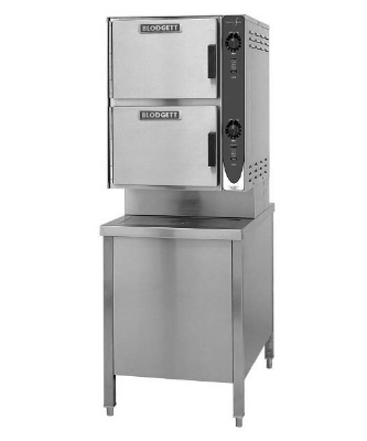 Blodgett 6E-SC 2403 2-Compartment Convection Steamer, 24-in Cabinet Base, 240/3 V