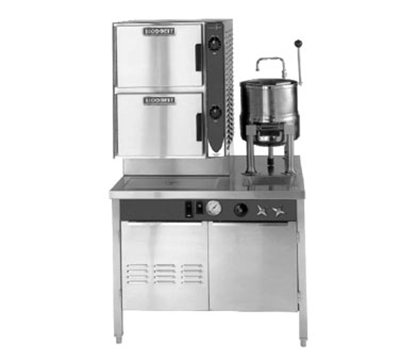 Blodgett 6G-6K-SB(36) Convection Steamer w/ 3-Pan Capacity & 2-Compartments, 36-in Cabinet Base